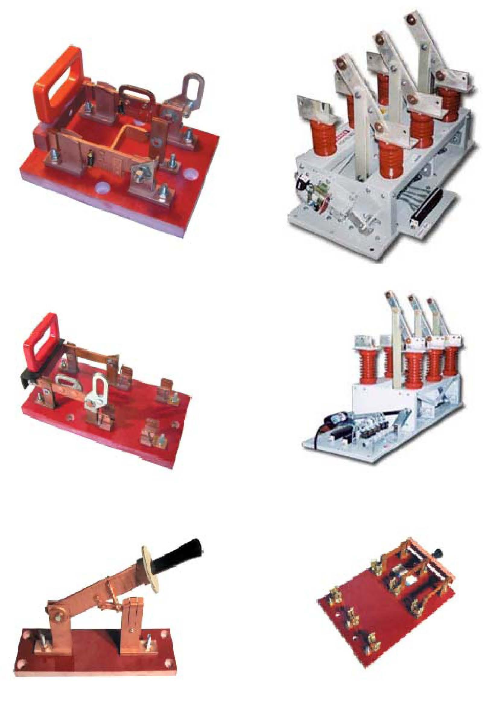 隔离开关能力 结构: 单通道或双通道    无熔丝或熔丝 电气: 12000a